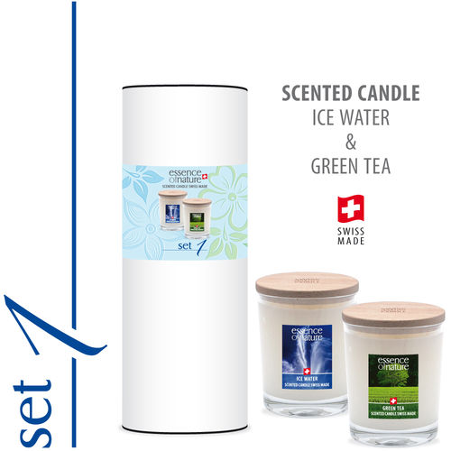 Essence of Nature Premium Scented Candle 180g | Set 1