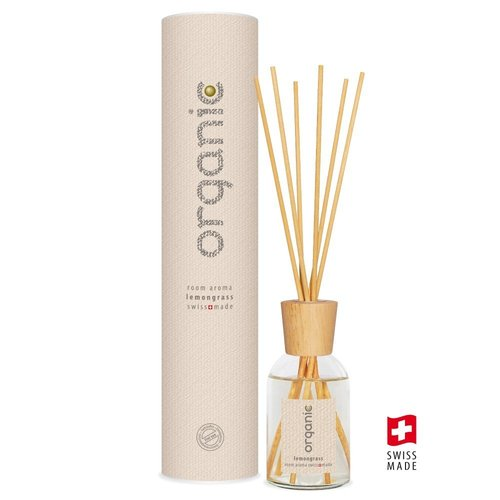 Organic Room Aroma Sticks 100ml Lemongrass